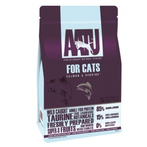 AATU Cat Food with Salmon and Herring