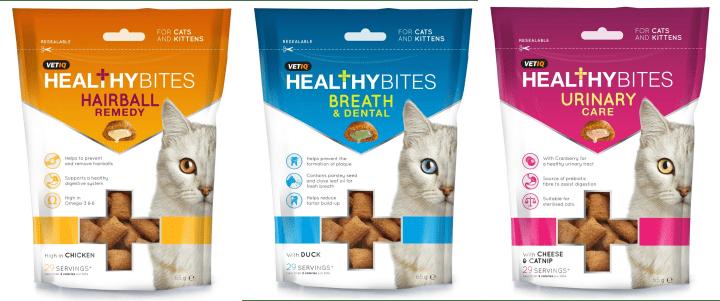 VetIQ Healthy Bites Cat Range