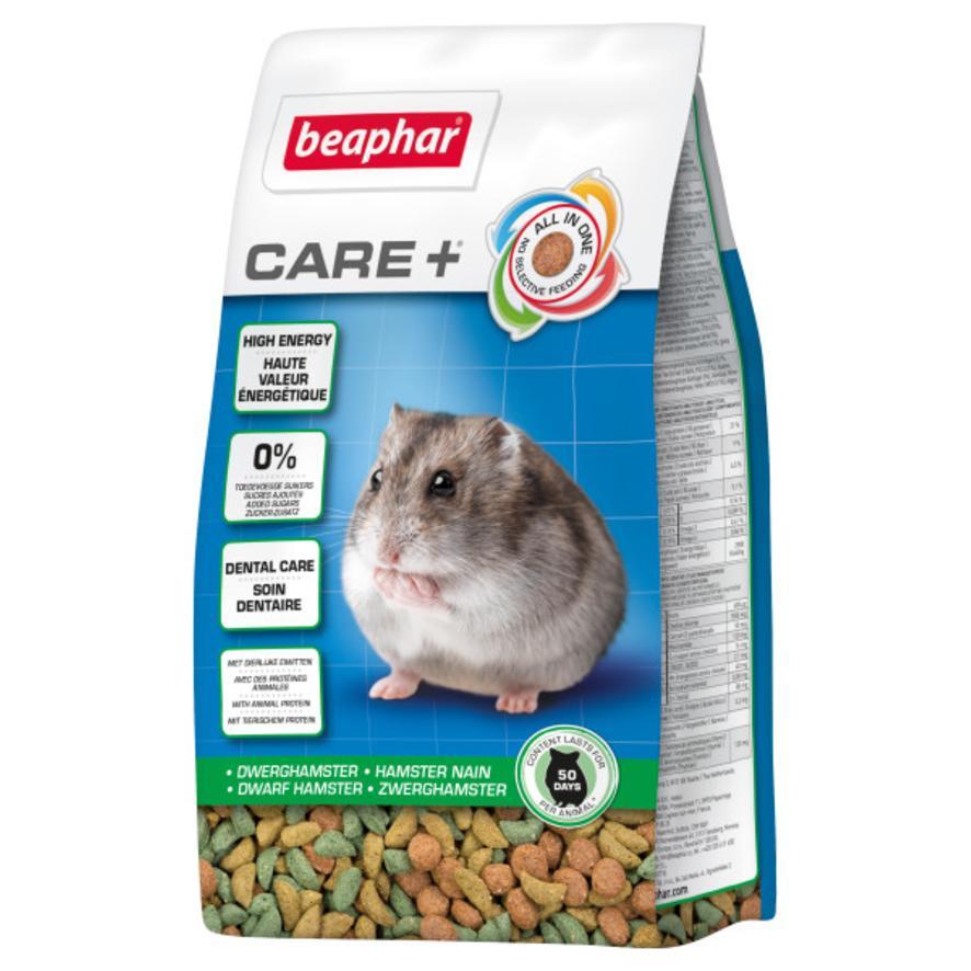BEAPHAR Care + Dwarf Hamster Food 250gm