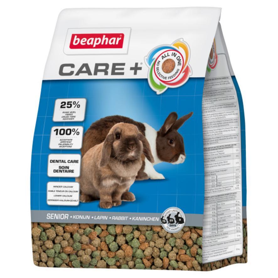 BEAPHAR Care + Senior Rabbit Food 1.5kg VAT FREE