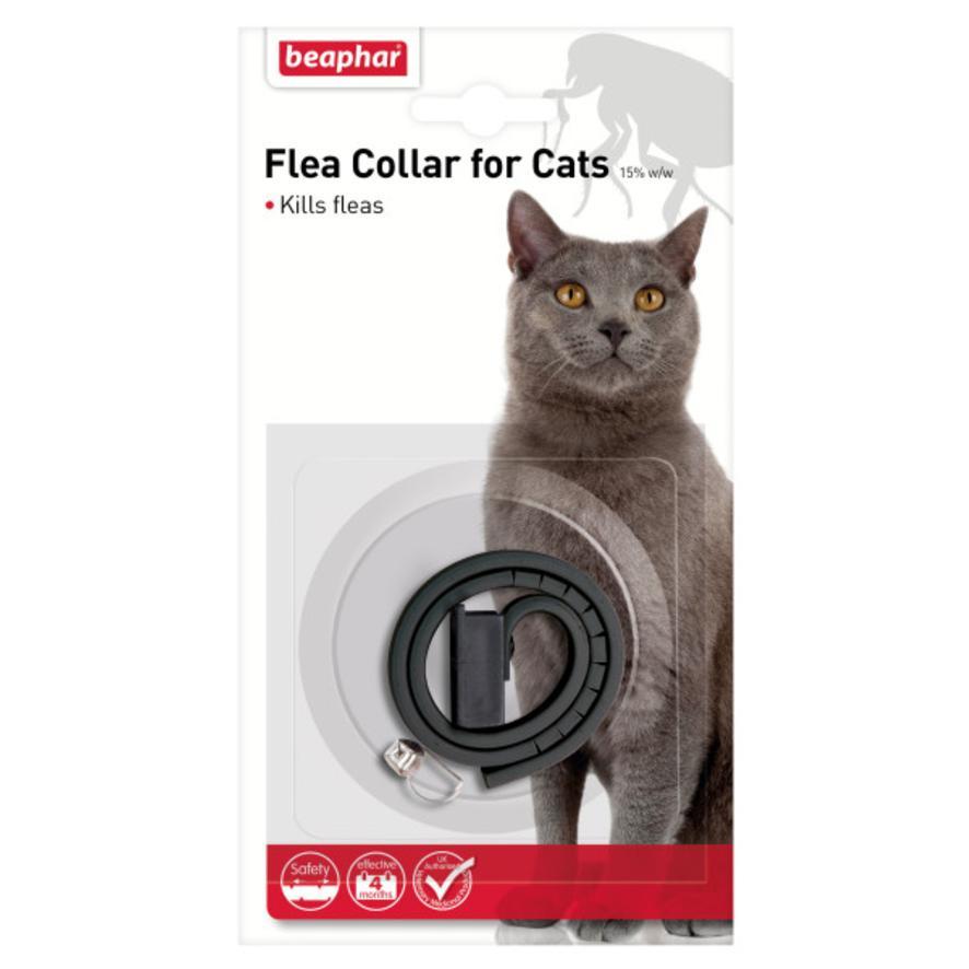 BEAPHAR Flea Collar for Cats 35cm (Assorted Colours)