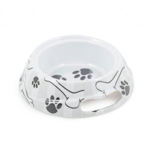 Ancol Grey Stripe Dog Bowl