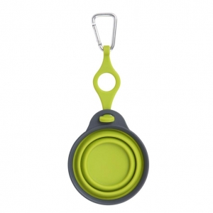 Dexas Travel Cup with Bottle Holder Green