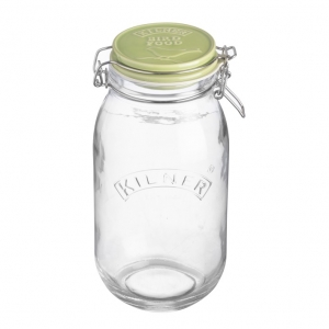 Mason Cash Bird Feed Jar with Ceramic Clip Top 2L