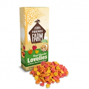 Tiny Friends Farm Lovelies with Banana, Blueberry & Apricot 120g