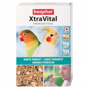 Beaphar XtraVital Food for Large Parakeets 500gm