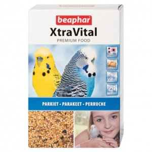 Beaphar XtraVital Parakeet Food 500gm