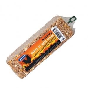 Johnsons Poultry Corn n Grit Treat Bar 270gm