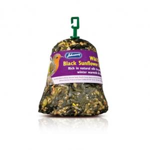 Johnsons Wild Bird Black Sunflower Bell 150gm