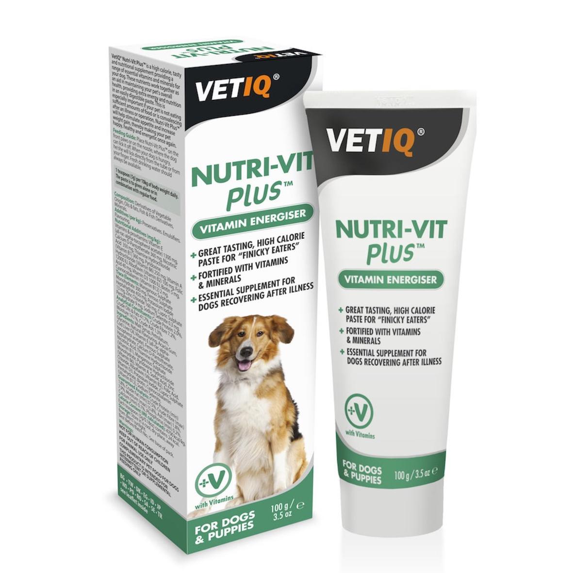 VetIQ NutriVit Plus Vitamin Energiser for Dogs 100gm