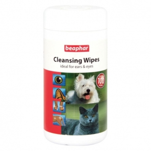 Beaphar Cleansing Wipes 100pcs