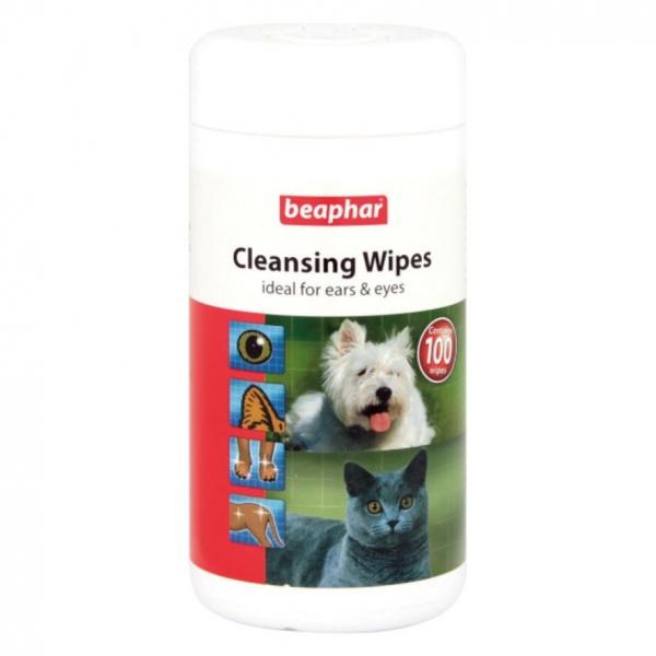 Beaphar Cleansing Wipes 100pcs