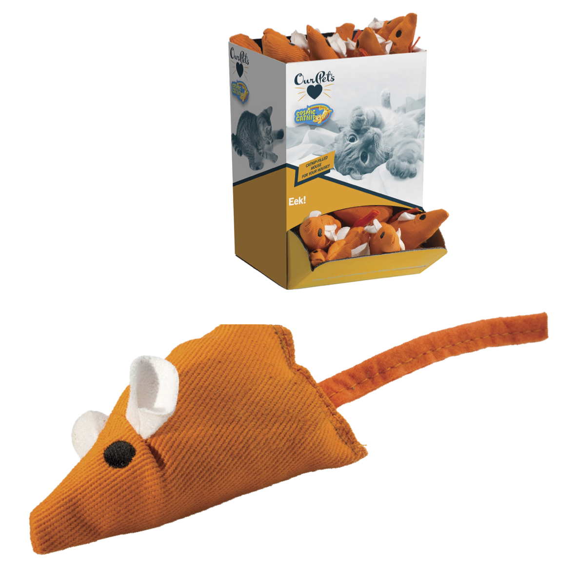 CLEARANCE Cosmic Catnip Filled Mouse 1pc