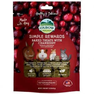 Oxbow Simple Rewards with Cranberry 60gm