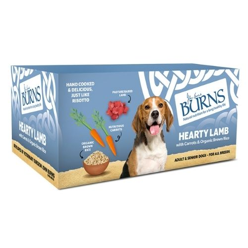 BURNS Hearty Lamb with Carrots & Organic Brown Rice 6x395g