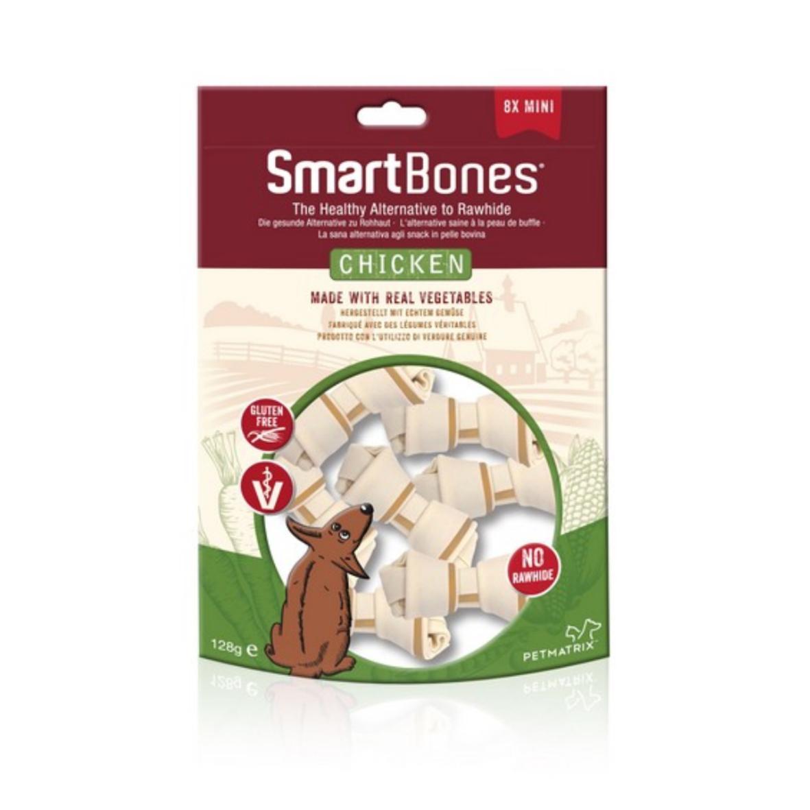 (D) SmartBones Mini Chews Chicken 8pcs