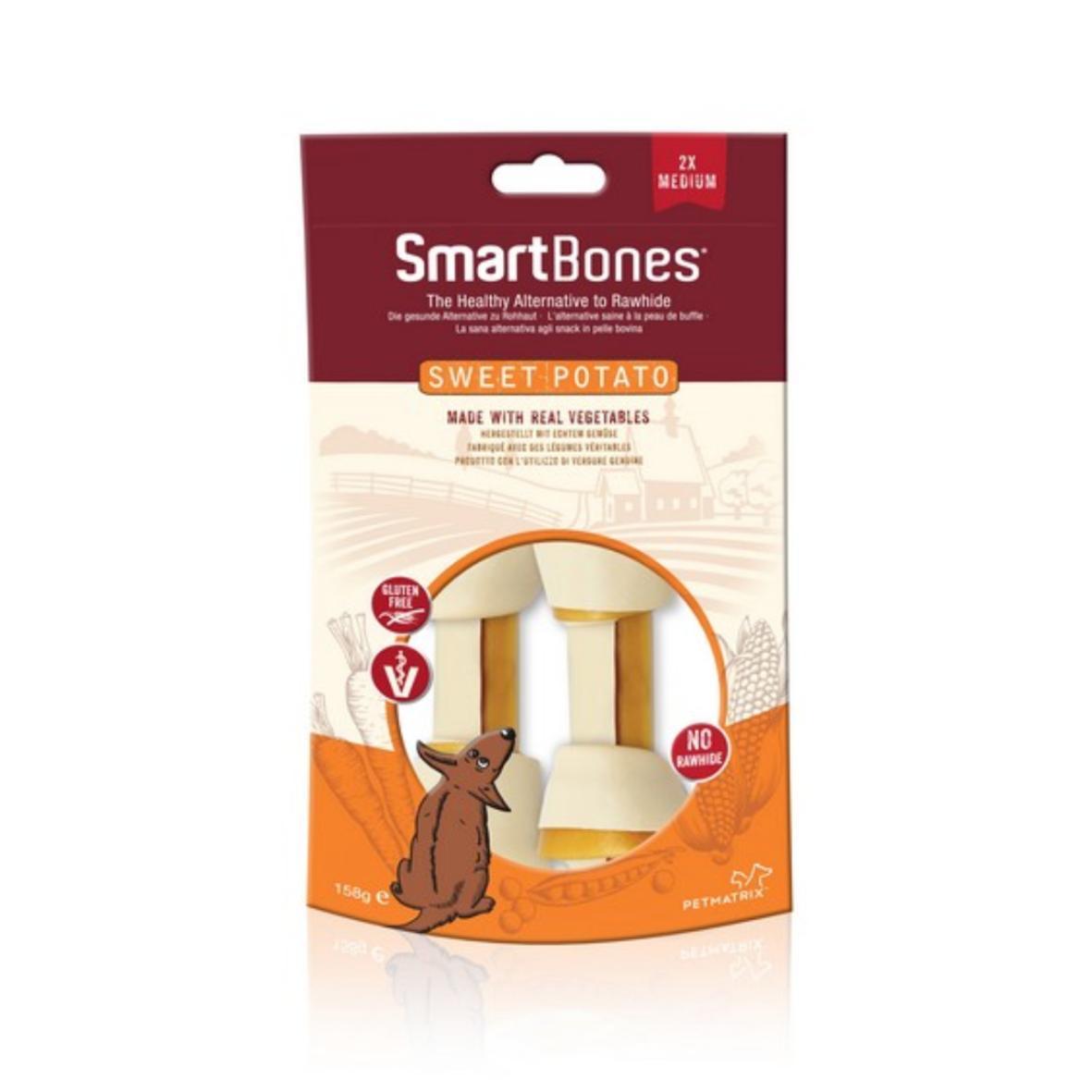 CLEARANCE SmartBones Medium Chews Sweet Potato 2pcs