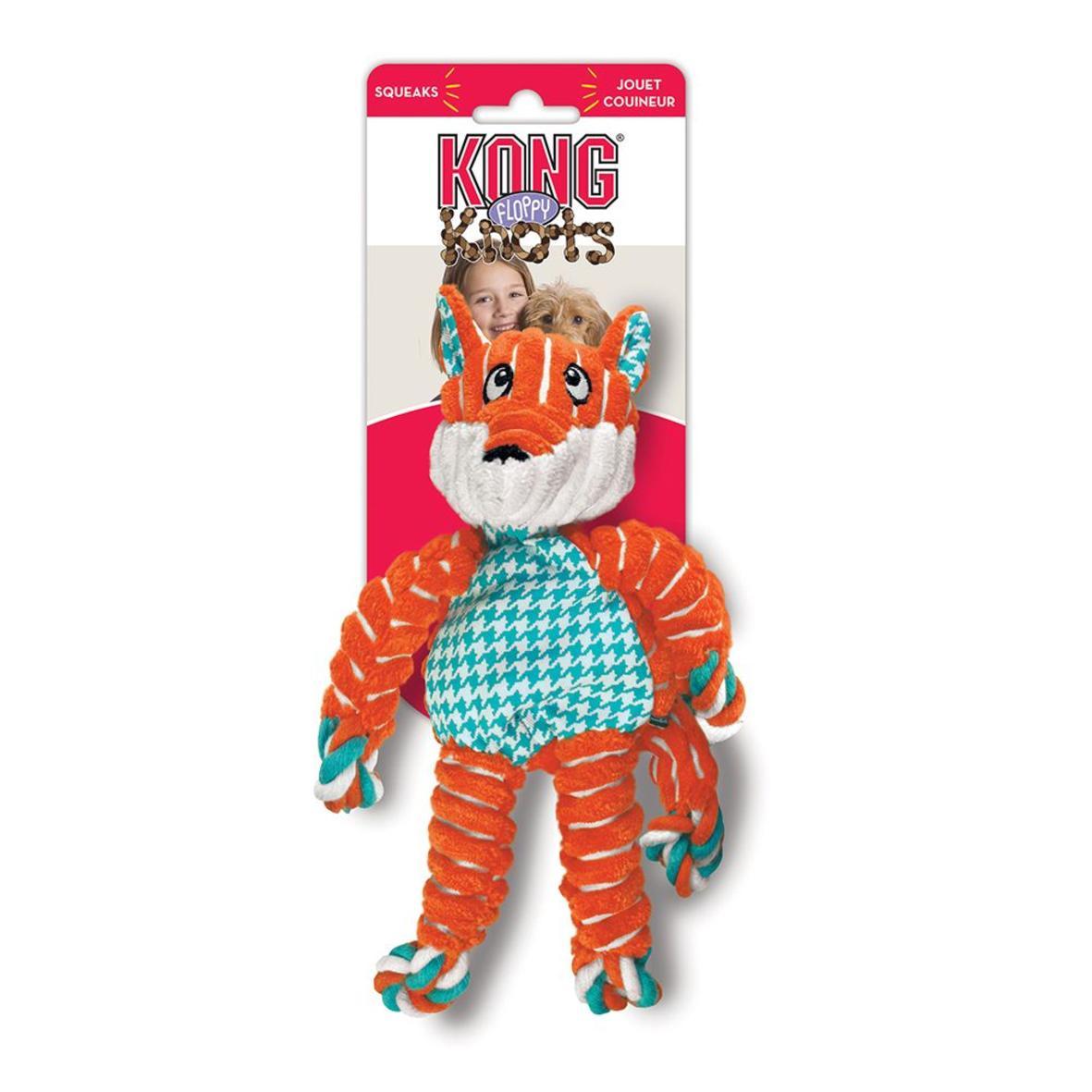 KONG Floppy Knots Fox Small/Medium 24cm