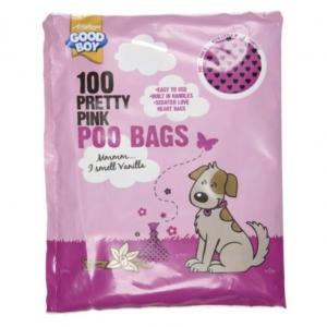 Good Boy Pink Poo Bags 100pk