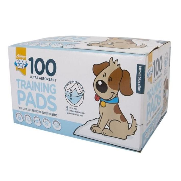 Good Boy Training Pads for Dogs and Puppies 100pk