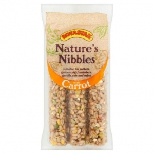 Rotastak Natures Nibbles Carrot Sticks 3pk