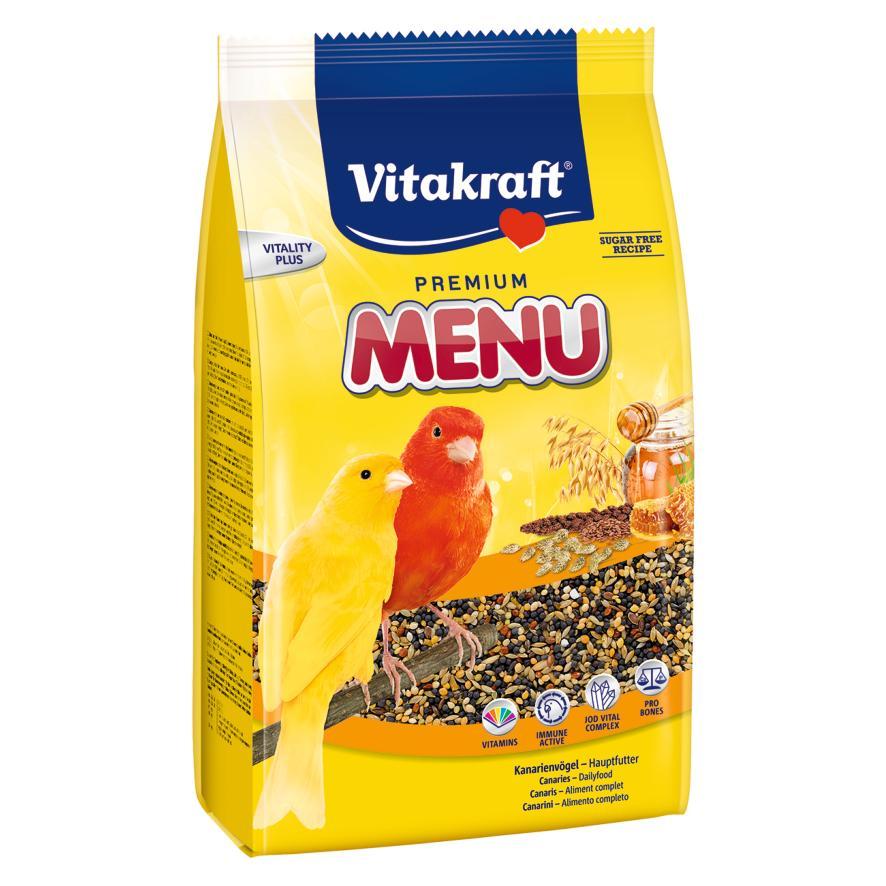 CLEARANCE Vitakraft Canary Menu Food 500g (Best Before 08.2021)