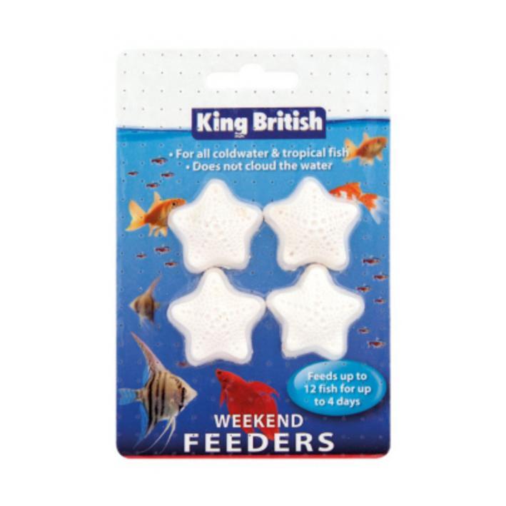 King British Weekend Feeders 4pcs