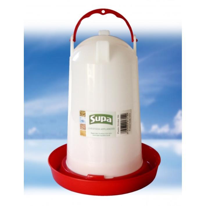 Supa Plastic Poultry Drinker 3L 984915