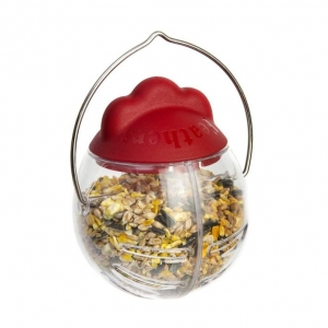 Feathers and Beaky Peck It Treat Dispenser