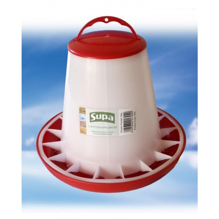 Supa Plastic Poultry Feeder 3kg 984894