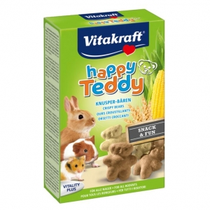 Vitakraft Happy Teddy Treats 75gm