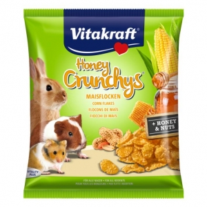 Vitakraft Honey Crunchies 80gm