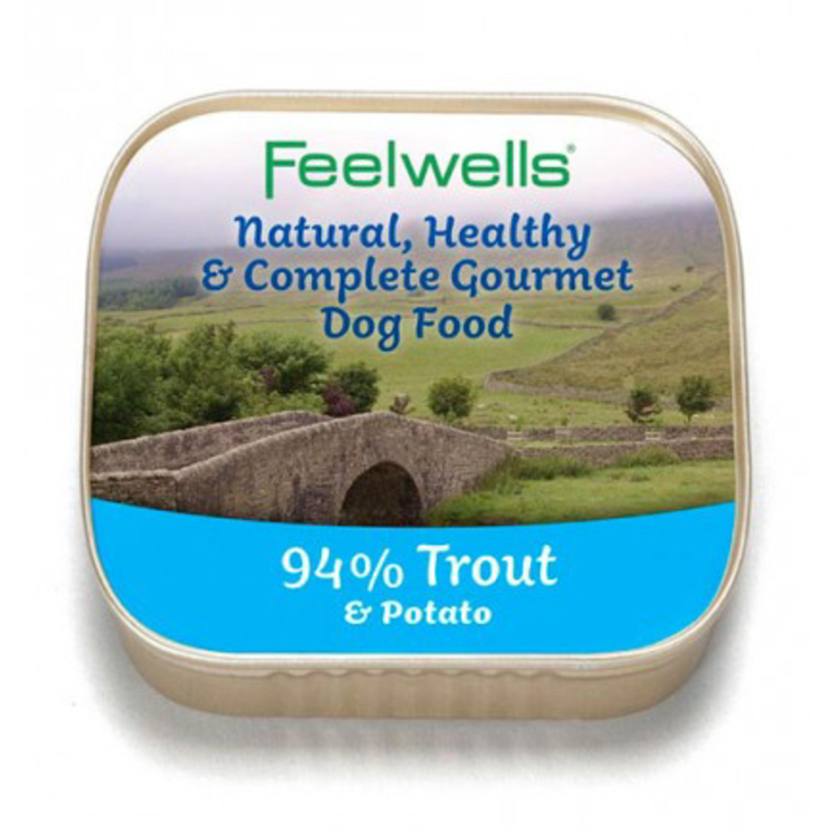 Feelwells Trays with Trout and Potato 150gm
