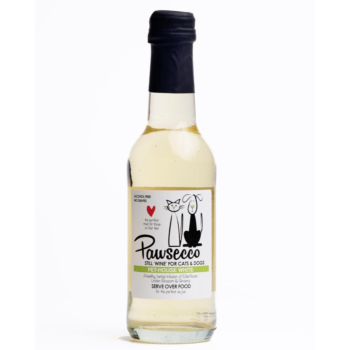 """Woof & Brew Pawsecco White """"Wine"""" 250ml"""