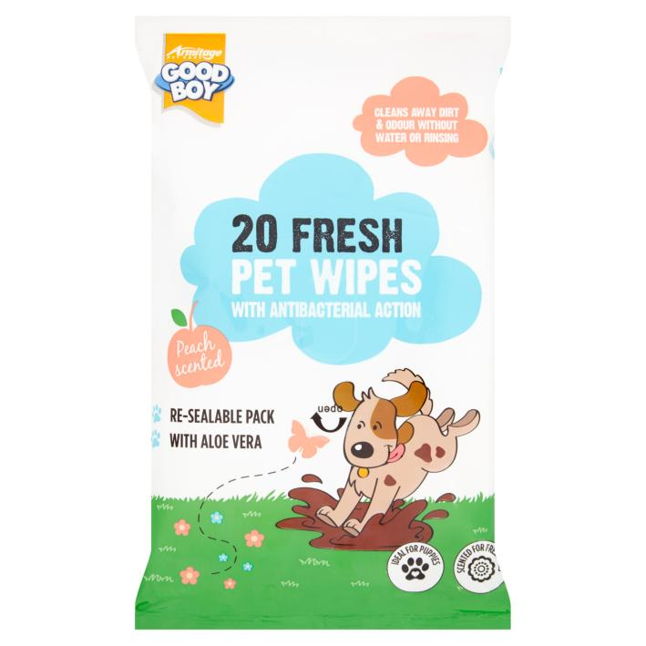 Good Boy Antibacterial Pet Wipes 20pcs