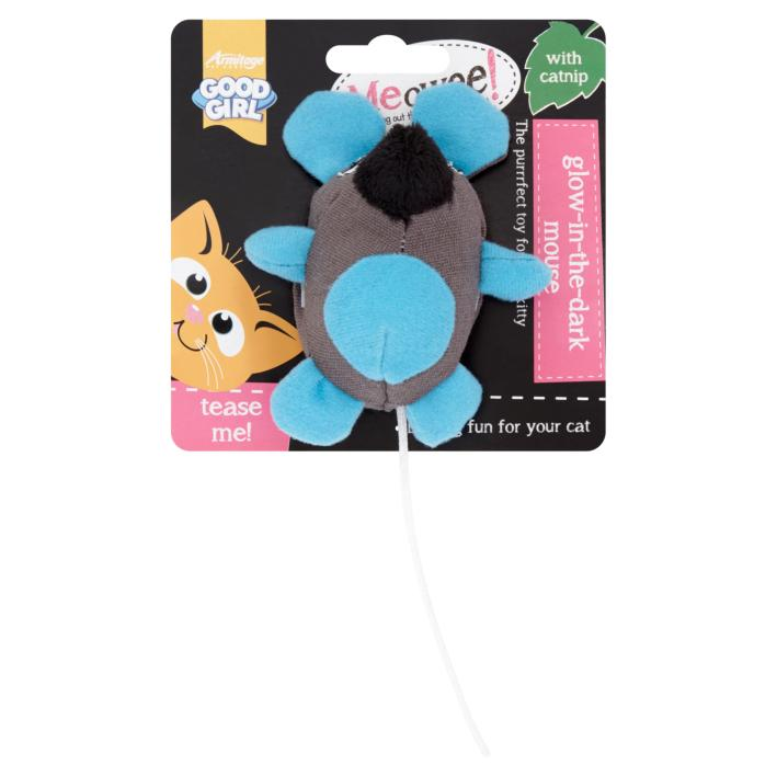 CLEARANCE Good Girl Meowee Glow Mouse 10cm