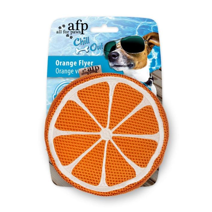 All for Paws Chill Out Orange Flyer 15cm