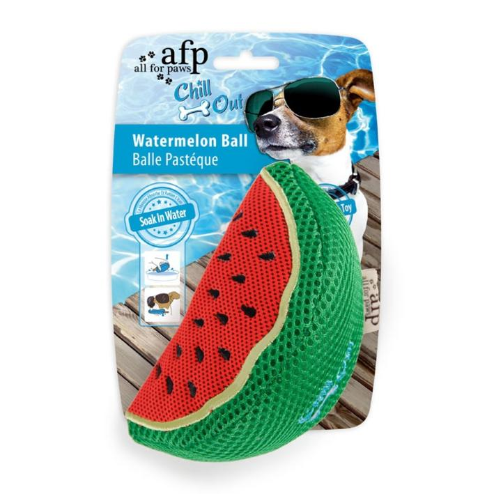All for Paws Chill Out Watermelon Ball 8.5cm x 15cm