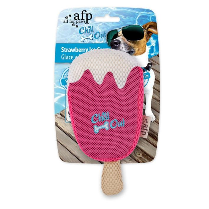 All for Paws Chill Out Strawberry Ice Cream 20cm x 9cm
