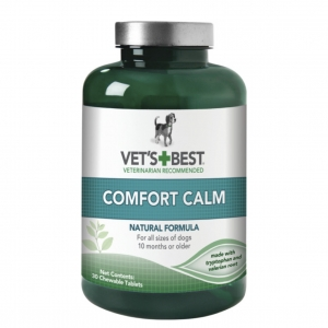 Vets Best Comfort Calm Chewable Tablets 60pcs