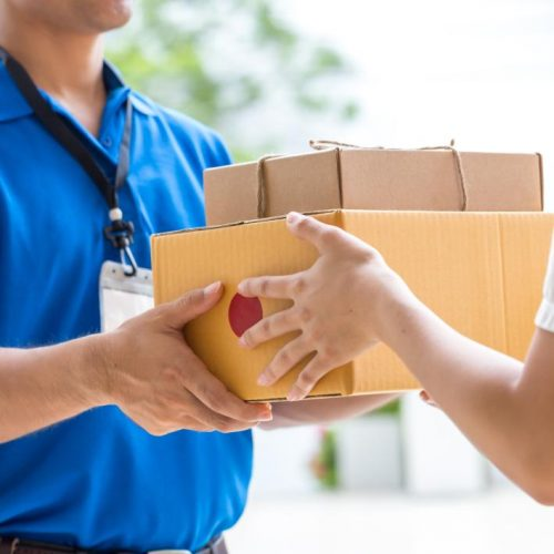 iStock Courier Photo