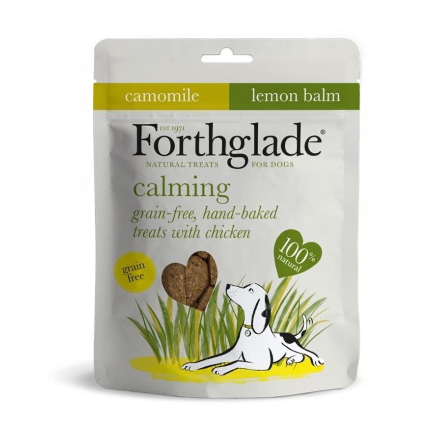 CLEARANCE Forthglade Calming Treats Chamomile & Lemon Balm 150g