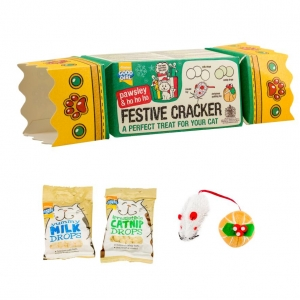 Good Girl Pawsley Festive Cracker for Cats