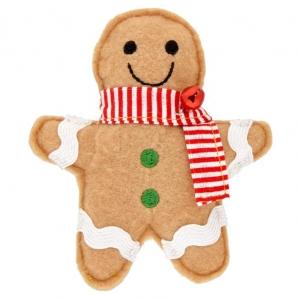 Good Girl Catnip Gingerbread Man