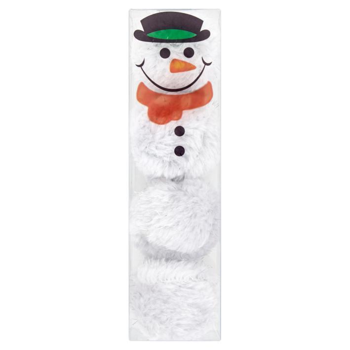 Good Girl Snowman Fluffy Balls 4pcs