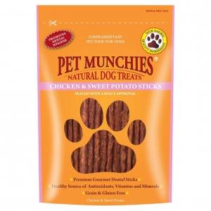Pet Munchies Chicken & Sweet Potato Sticks