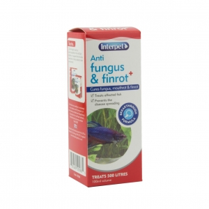 Interpet Anti Fungus & Finrot + 100ml