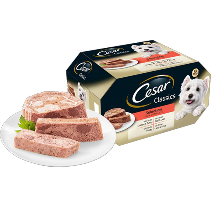 Cesar Classics Selection Loaves (Tray) 24 x 150gm 736497