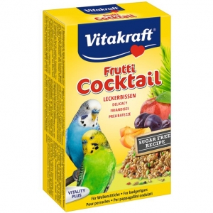 Vitakraft Budgie Frutti Cocktail 200gm