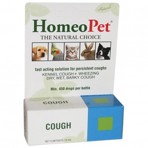 Homeopet Cough Drops 15ml